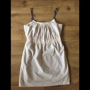 Gap sleeveless Coachella music festival mini dress
